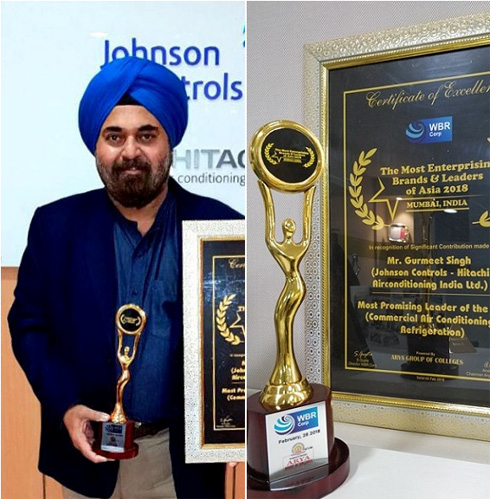 "India VP and GM named ""Most Promising Leader of the Year"" by WBR Corp"