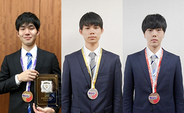 第56回技能五輪全国大会にて当社社員が3職種に出場し 金、銀、銅メダルを獲得