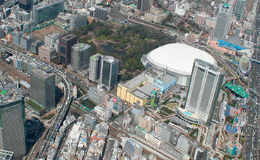 Regional Heating & Cooling | Koraku 1, Tokyo