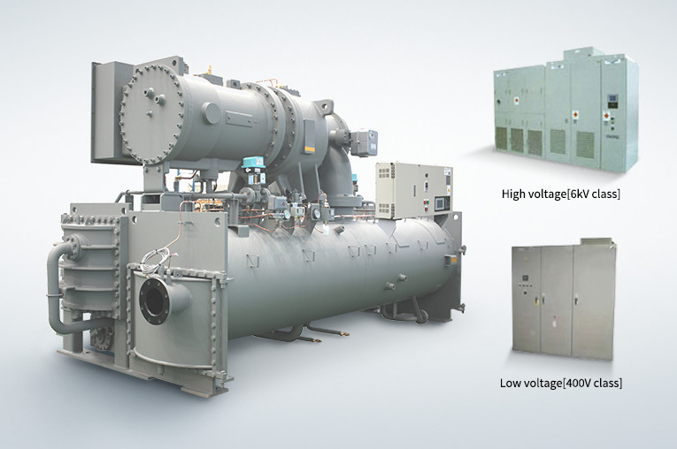 High Efficiency Inverter-controlled Centrifugal Chillers