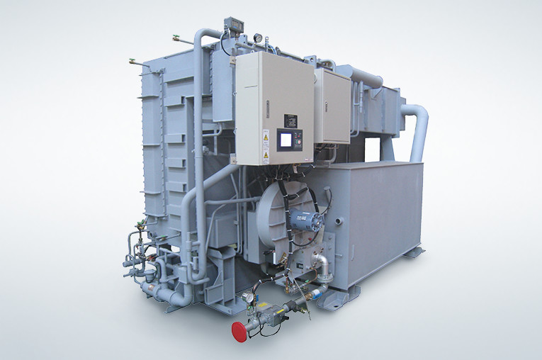 Enhanced efficiency absorption chiller-heaters