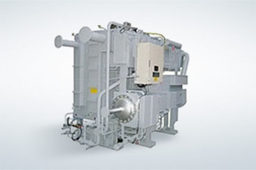 Double-effect steam absorption chillers