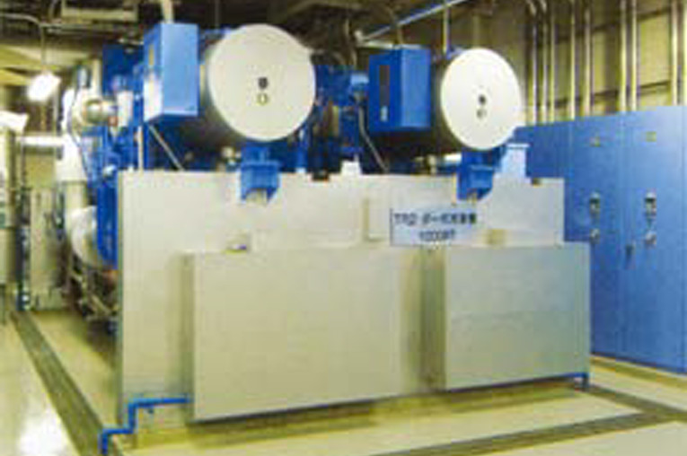 Twin compressor centrifugal chillers
