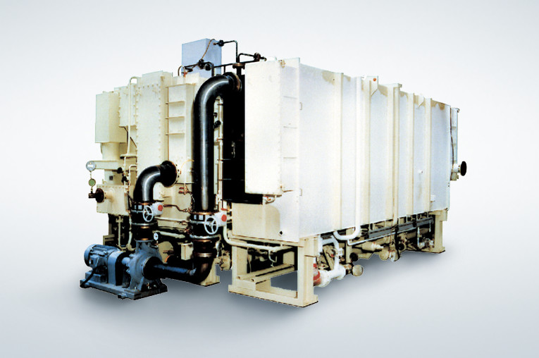 Low-temperature absorption chiller