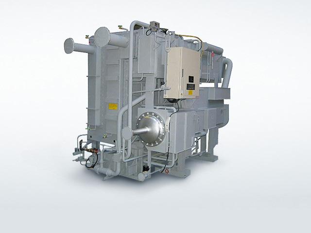 蒸気二重効用吸収式冷凍機