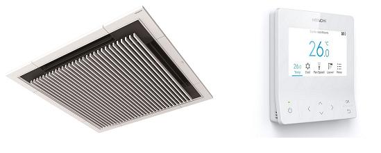 業務用空調機室内ユニット「てんかせ4方向」用デザインパネル「Silent-Iconic」と空調管理システム用多機能デザインリモコンが「レッド・ドット・デザイン賞」を受賞